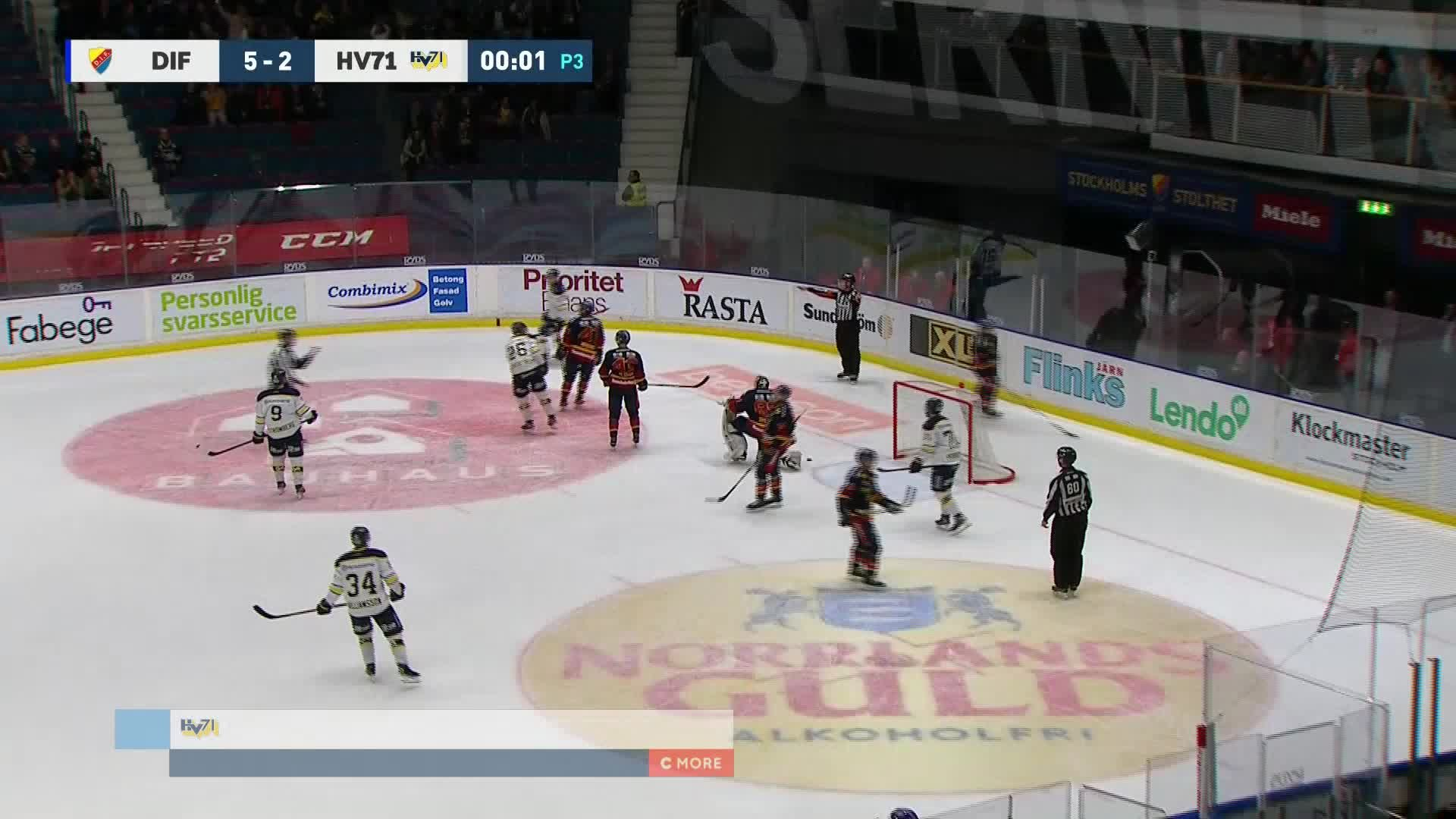 Djurgården Hockey - HV71 5-3