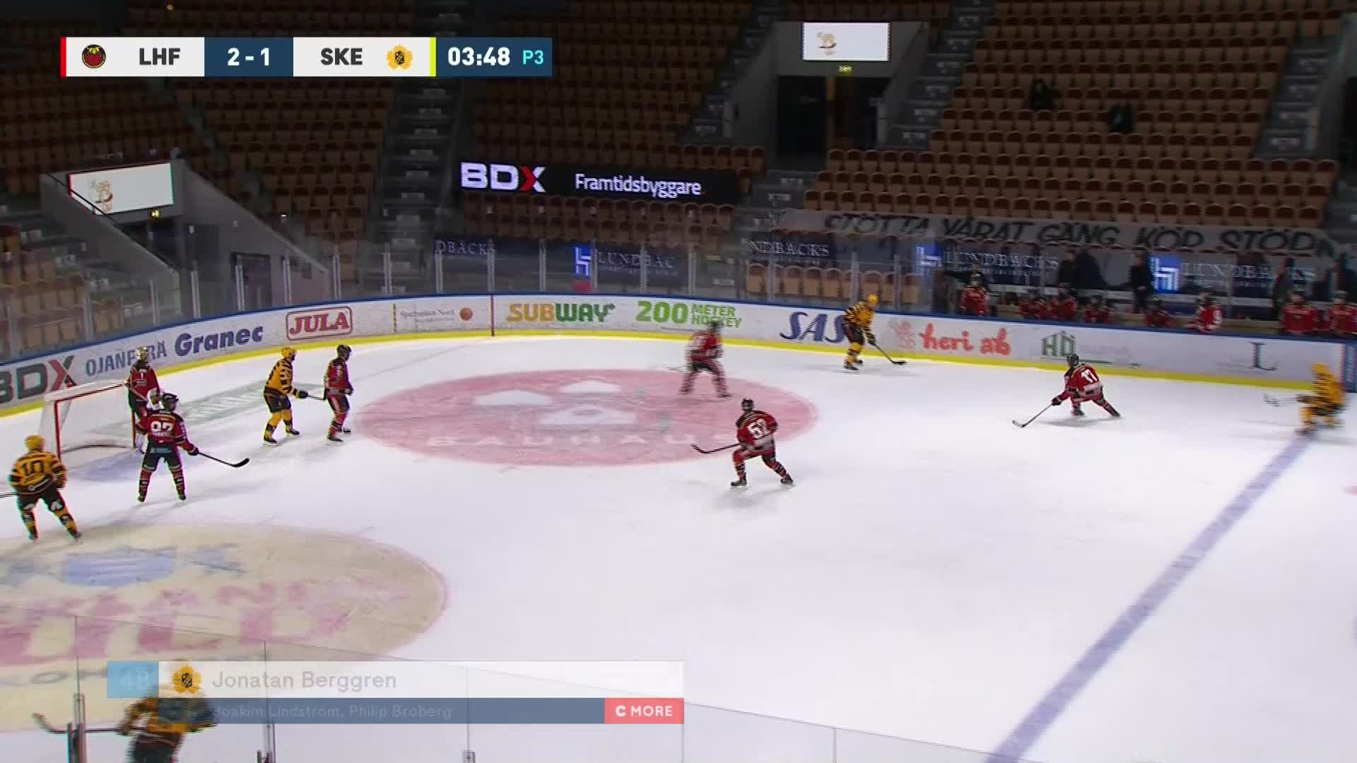 Luleå Hockey - Skellefteå AIK 2-2