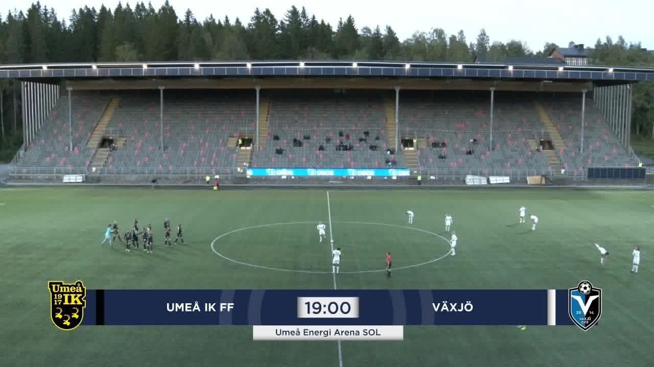 Highlights: Umeå – Växjö 11 sept