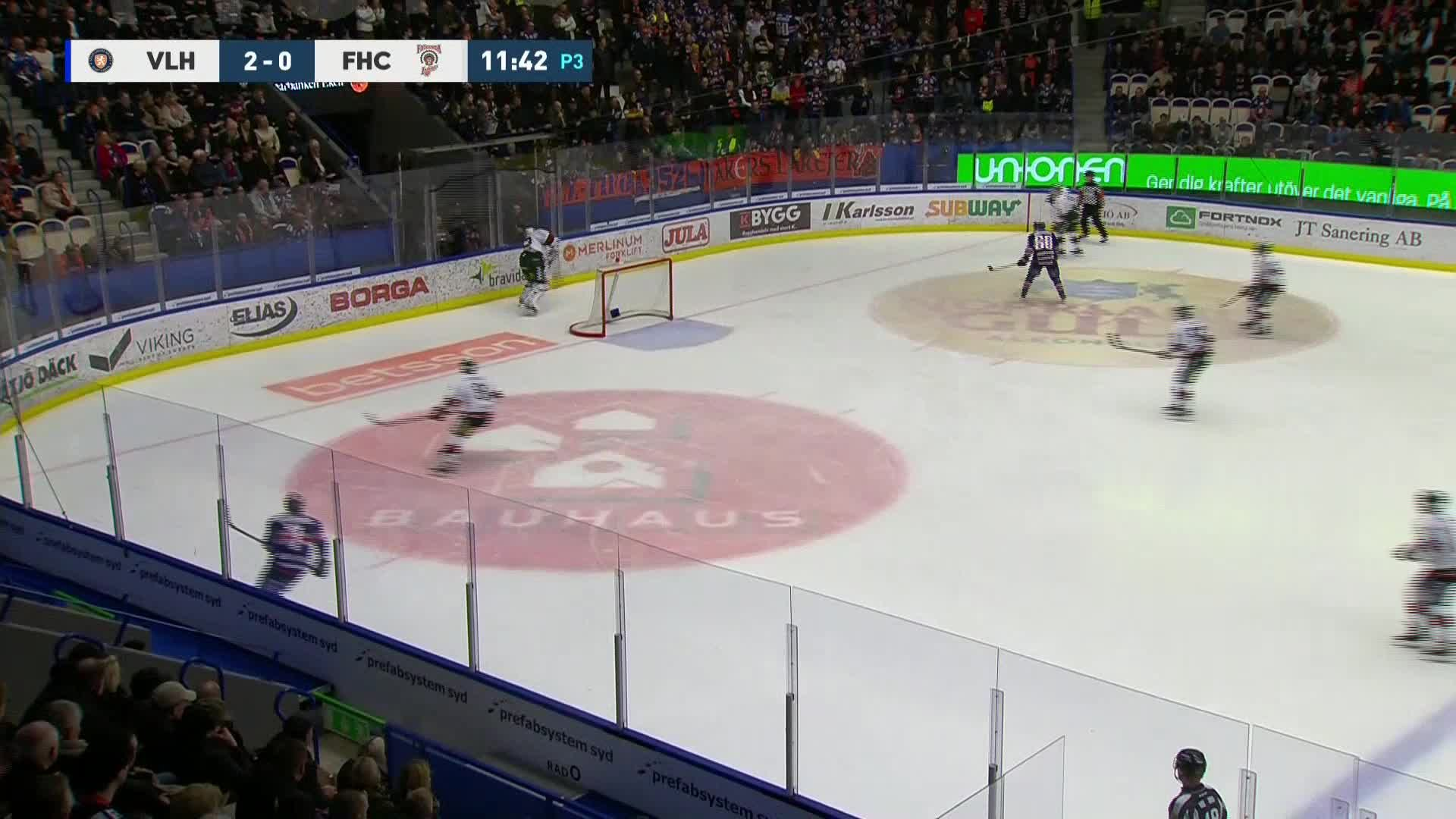 Växjö Lakers - Frölunda HC 3-0