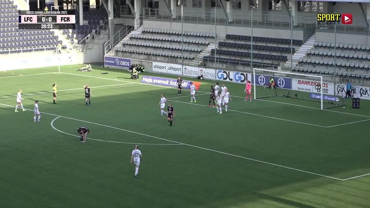 Highlights: Linköpings FC - FC Rosengård