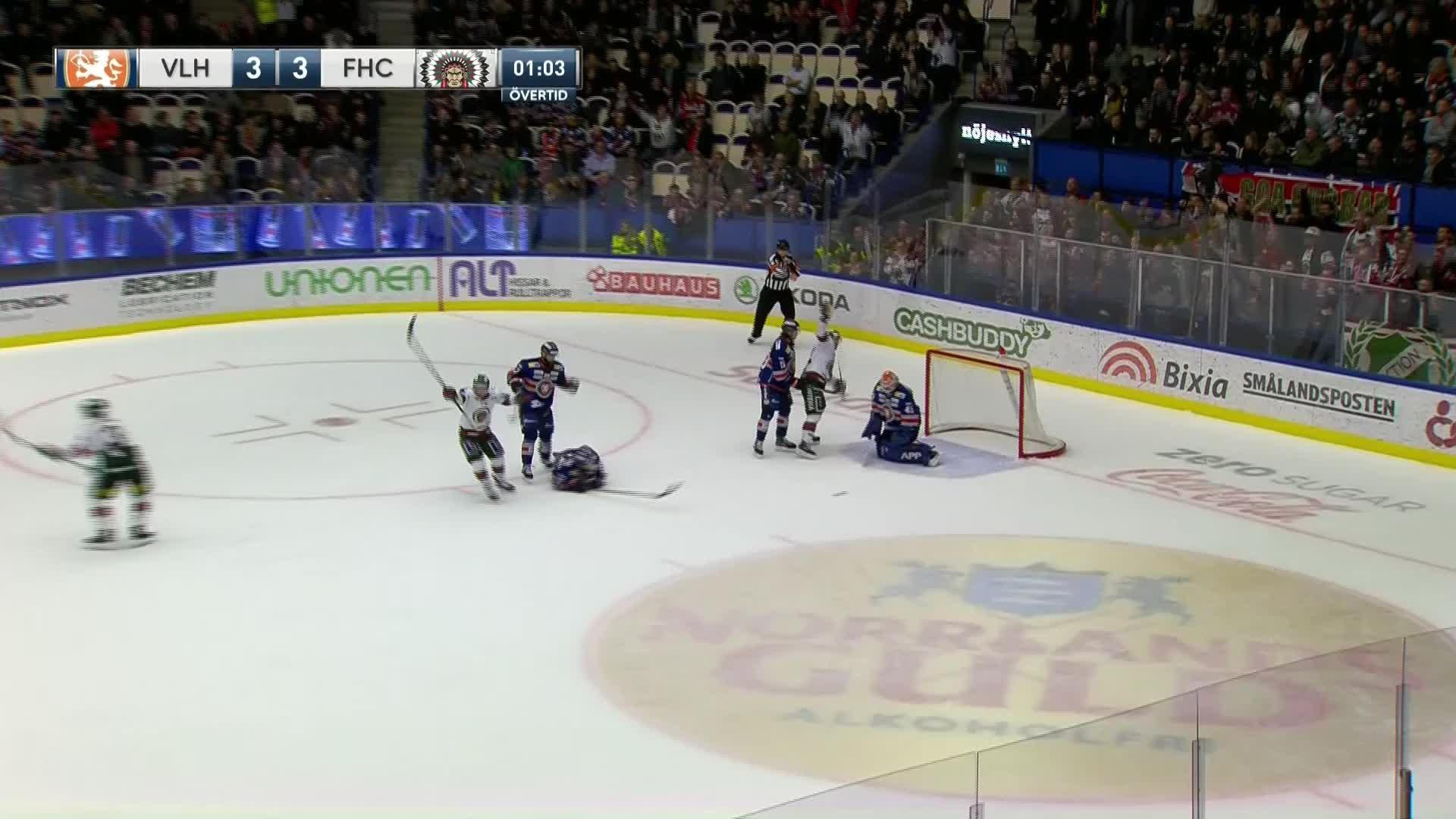 Växjö Lakers - Frölunda HC 3-4