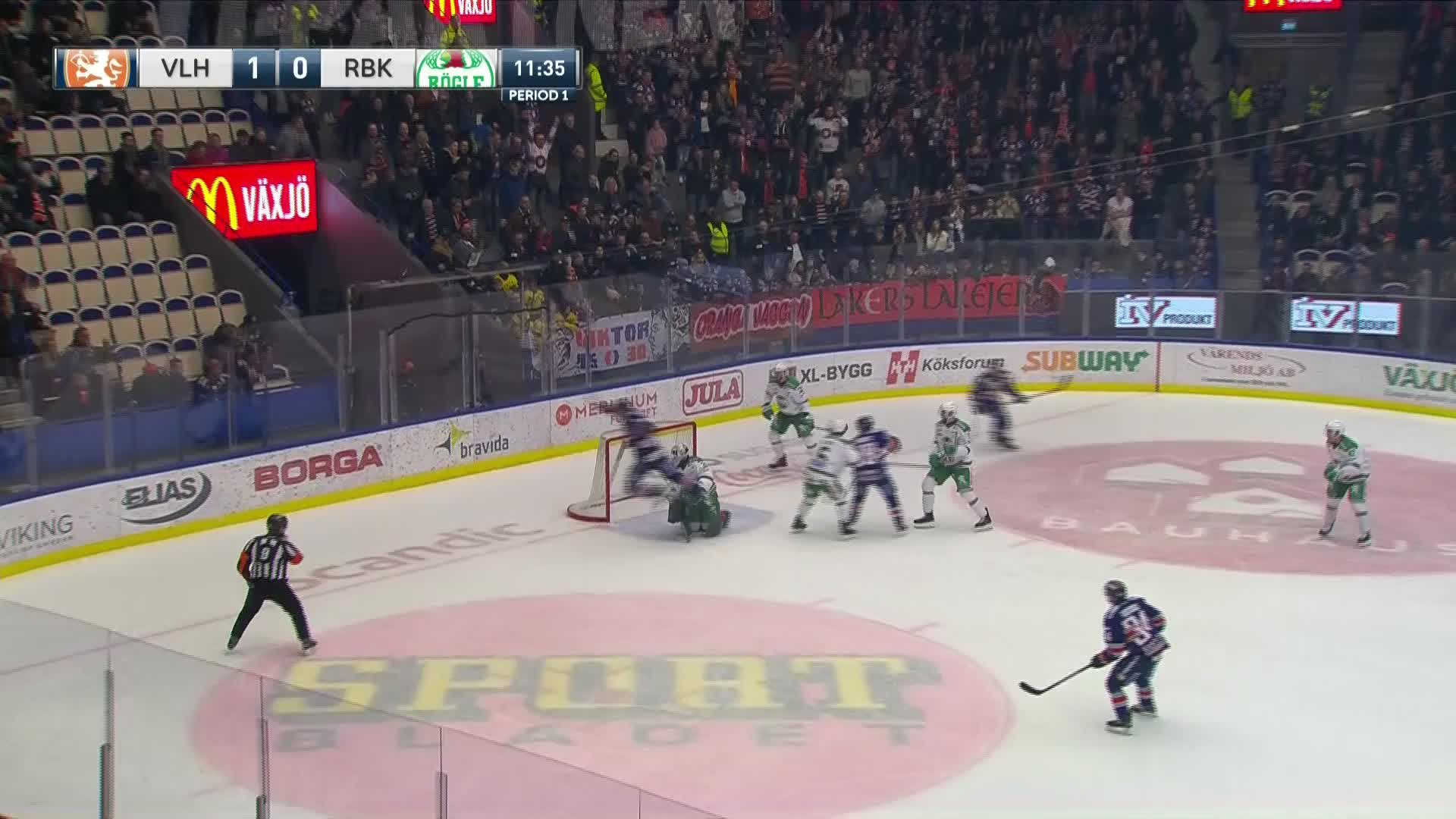 Växjö Lakers - Rögle BK 2-0
