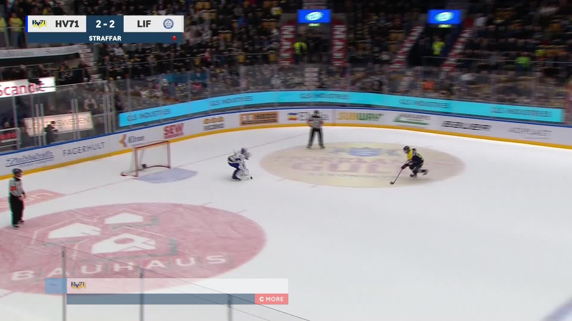 HV71 - Leksands IF 3-2