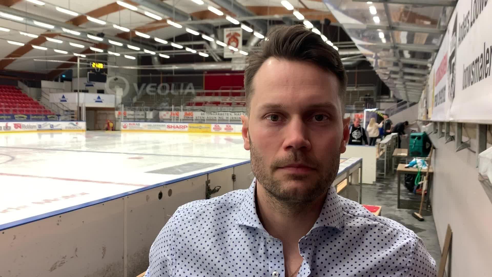 Martin Gudmundsson efter Björklöven