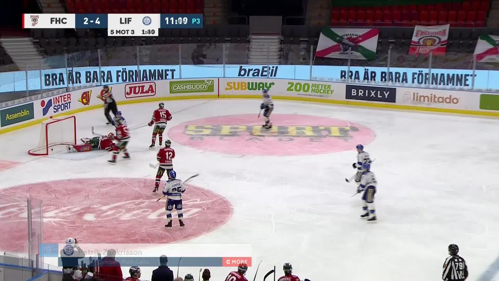Frölunda HC - Leksands IF 2-5
