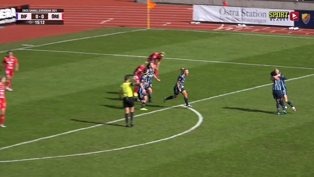 Highlights: Djurgårdens IF FF - KIF Örebro DFF