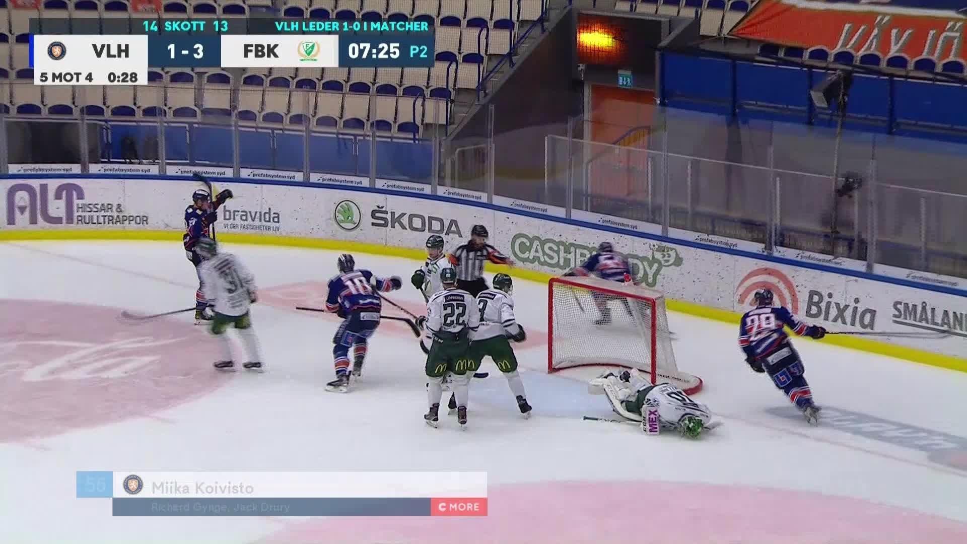 Växjö Lakers - Färjestad BK 2-3