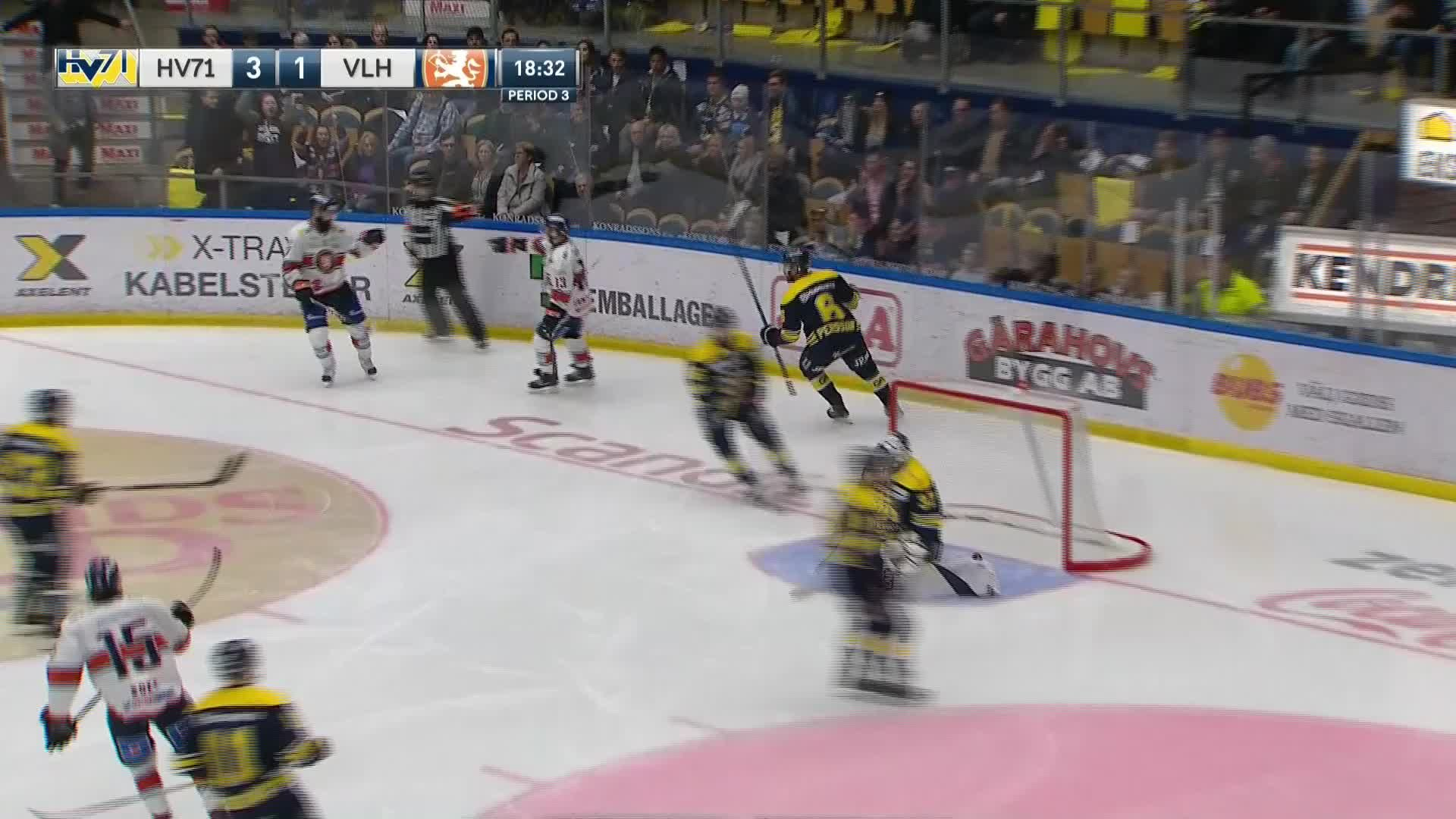 HV71 - Växjö Lakers 3-2