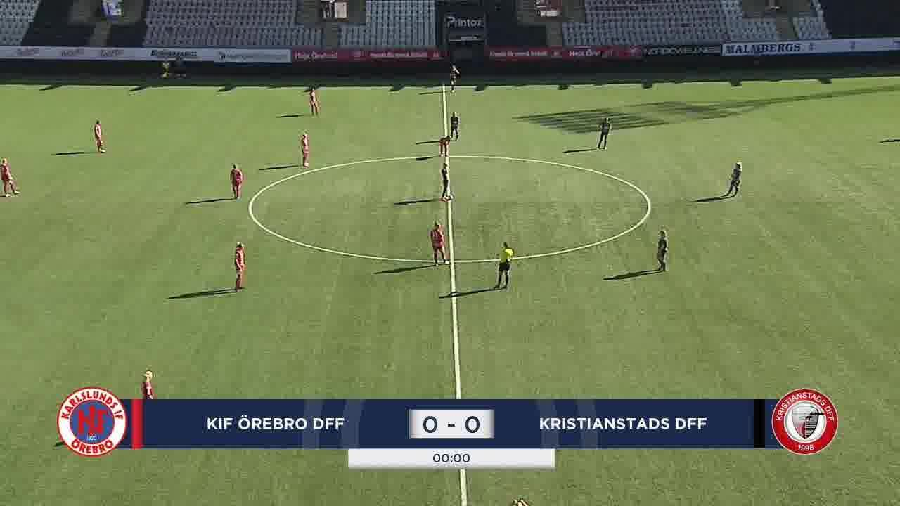 Highlights: KIF Örebro - Kristianstad 16 aug