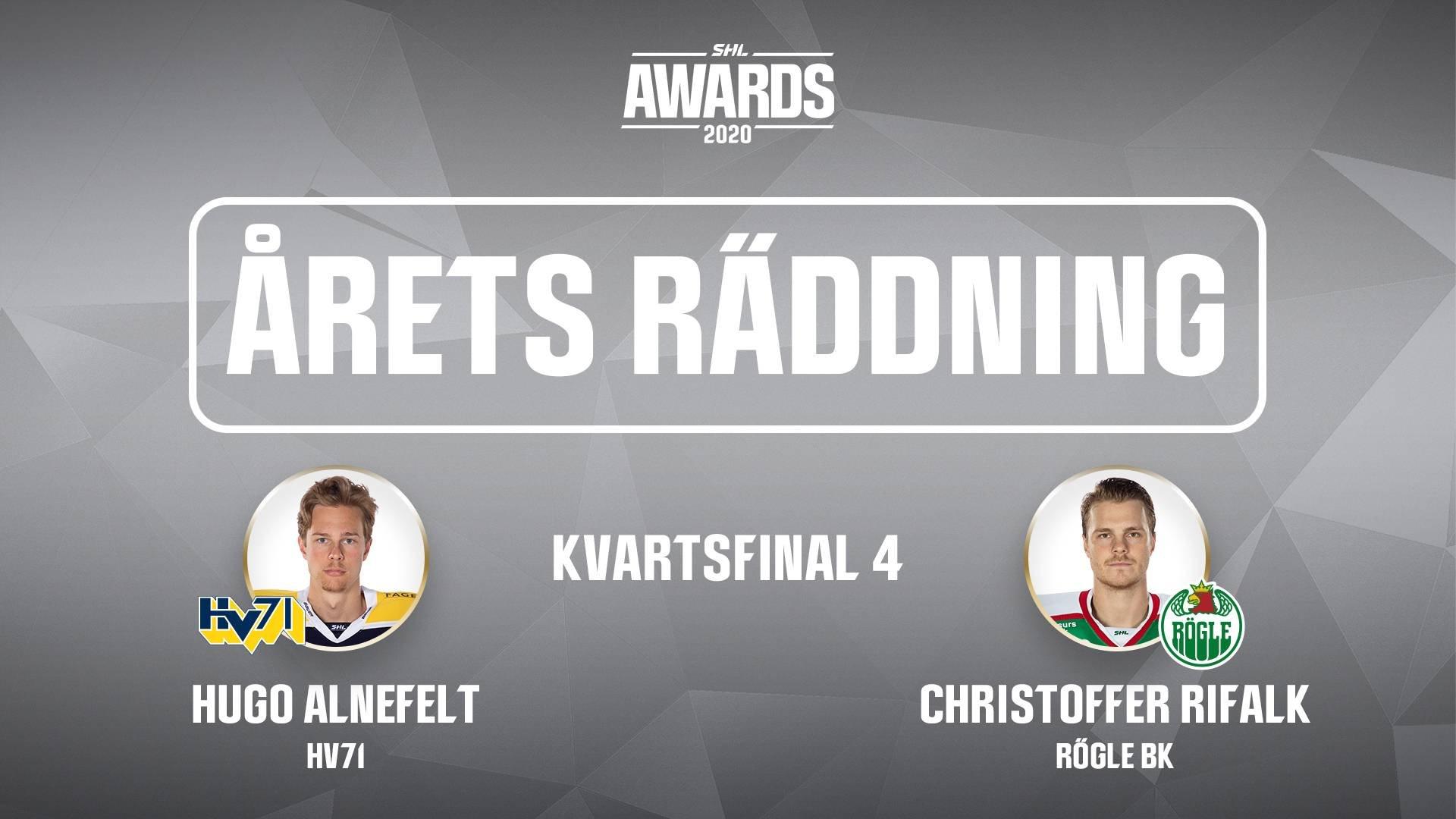 Årets räddning 2019/2020 - Kvartsfinal 4