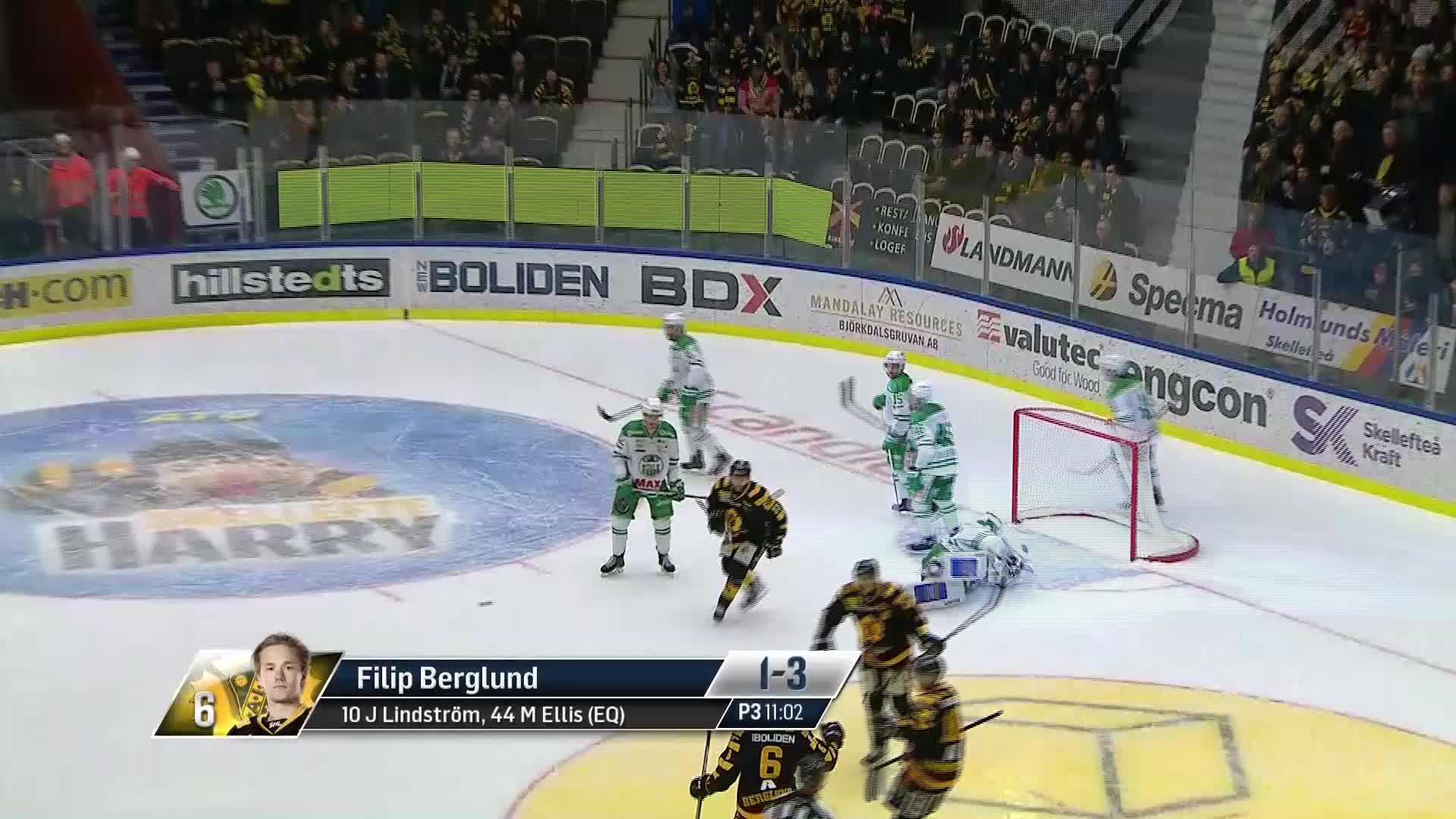 Skellefteå AIK - Rögle BK 1-3