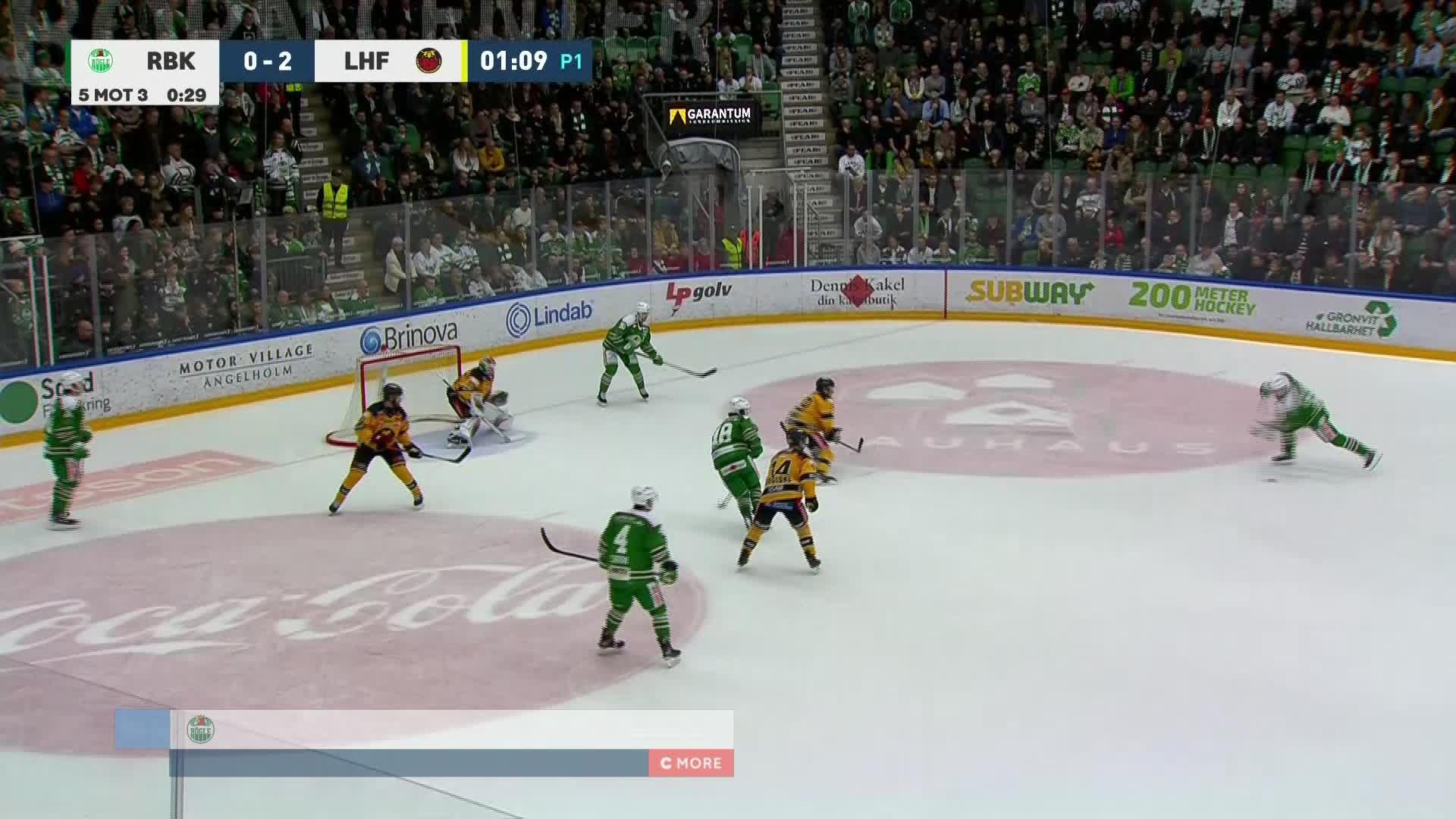 Rögle BK - Luleå Hockey 1-2