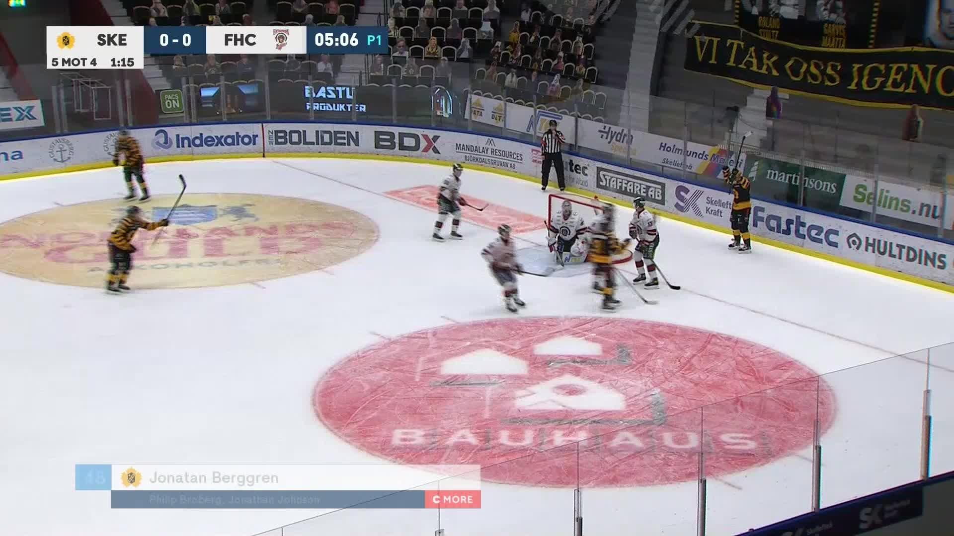 Skellefteå AIK - Frölunda HC 1-0
