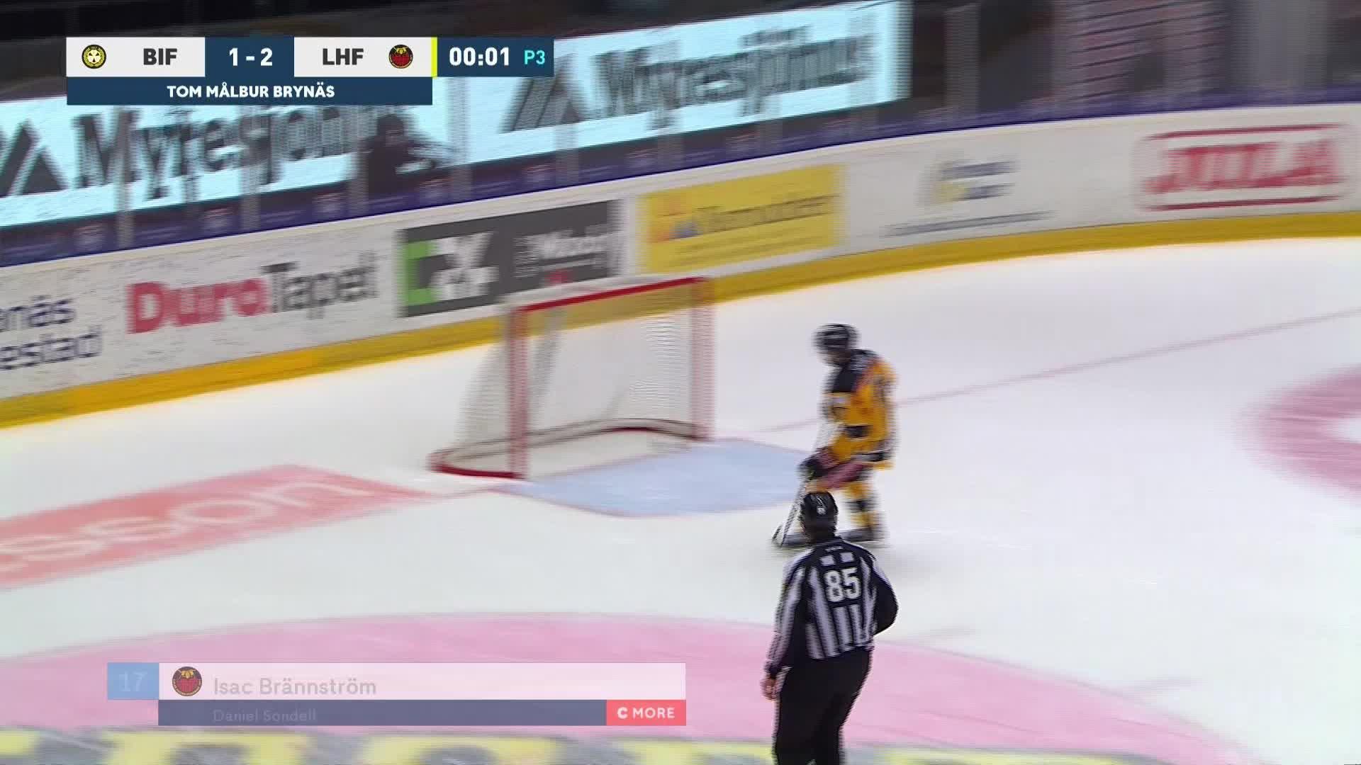Brynäs IF - Luleå Hockey 1-3
