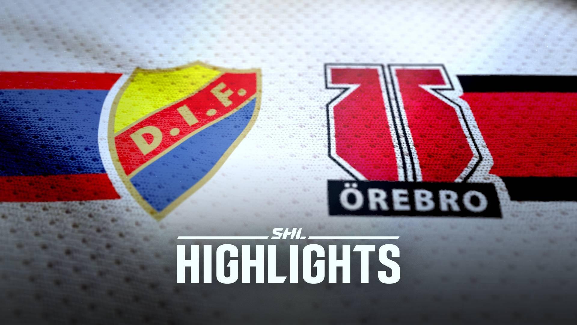 TV: Djurgården Hockey - Örebro Hockey
