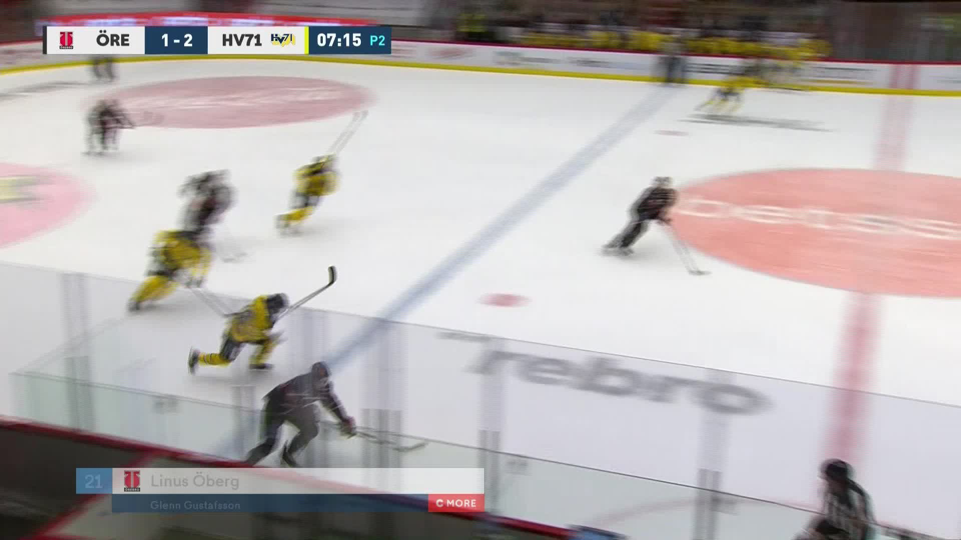 Örebro Hockey - HV71 2-2