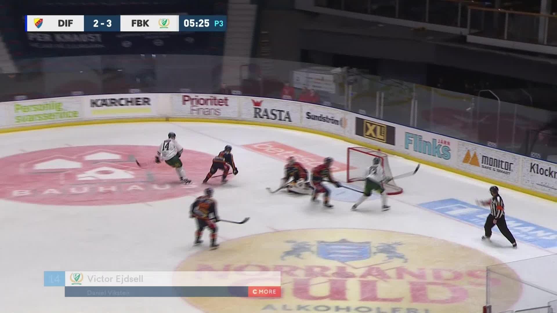 Djurgården Hockey - Färjestad BK 2-4