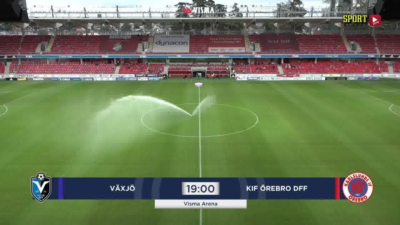 Highlights: Växjö - KIF Örebro 4 sept