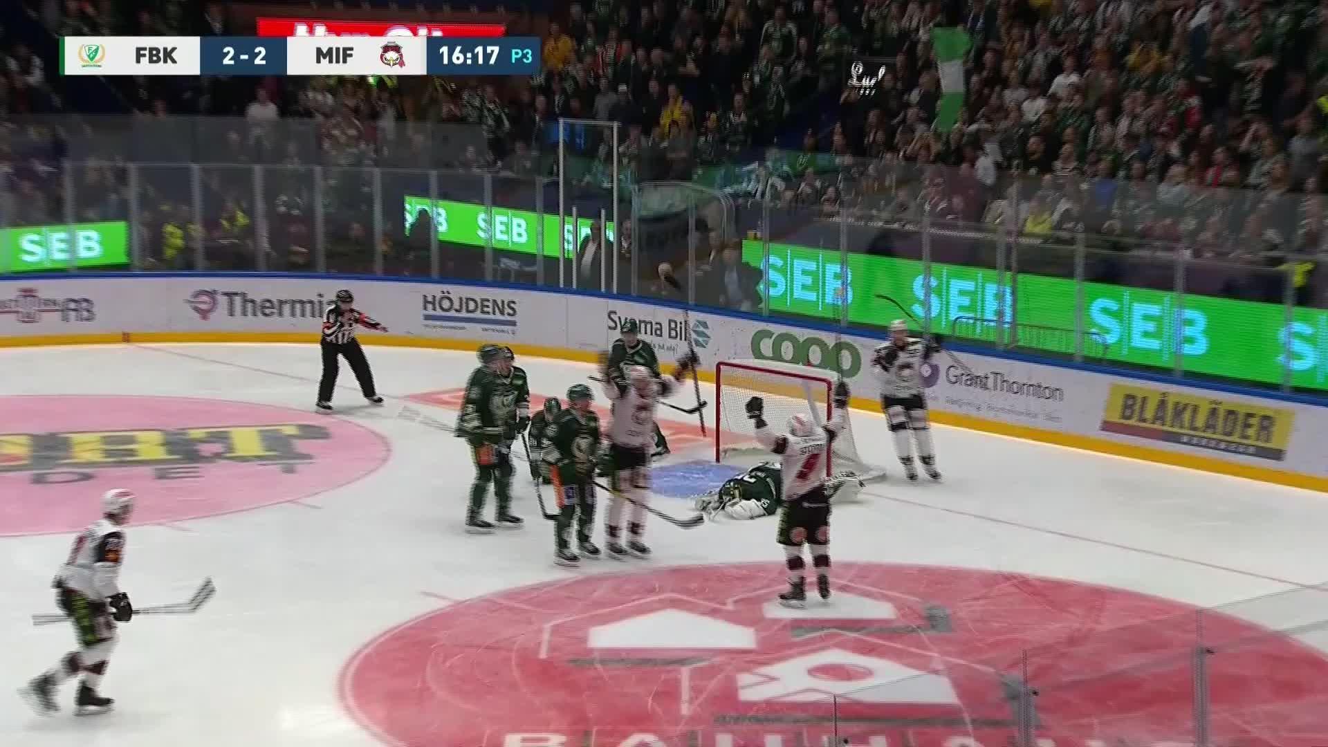 Färjestad BK - Malmö Redhawks 2-3
