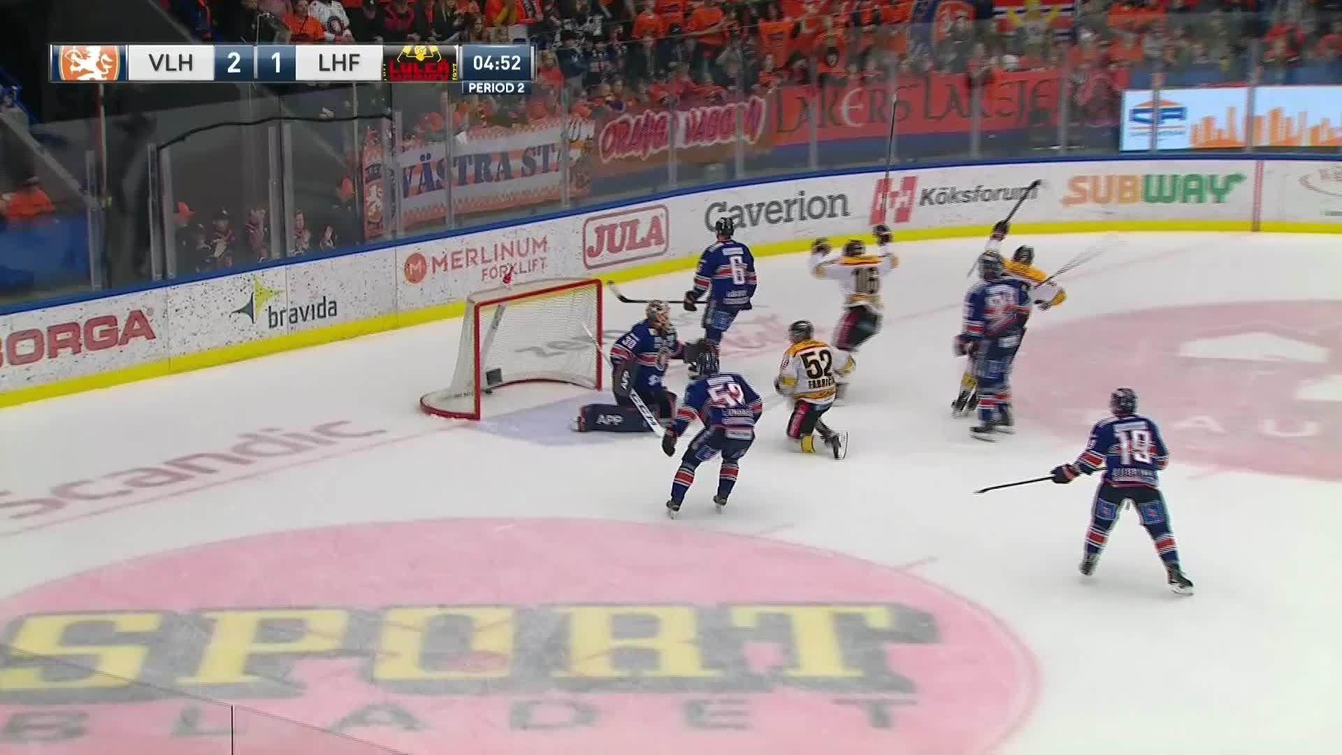 Växjö Lakers - Luleå Hockey 2-2