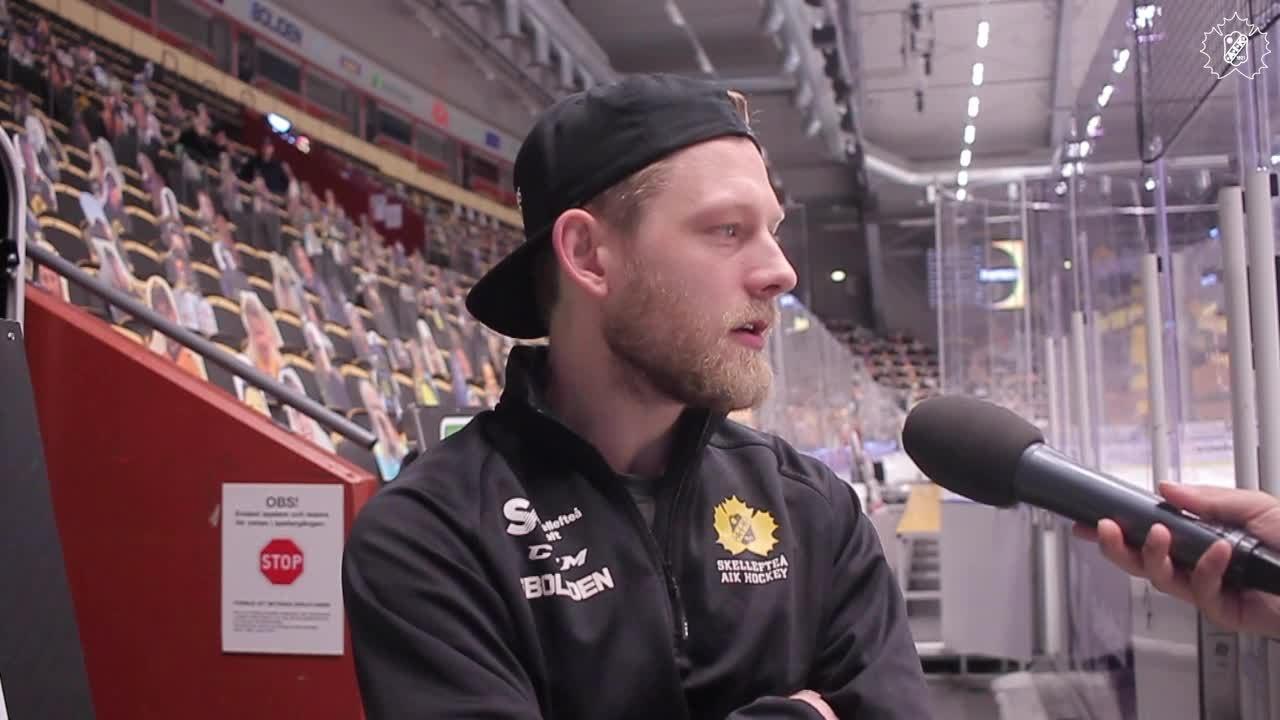 TV: Kapten Möller inför slutspelet