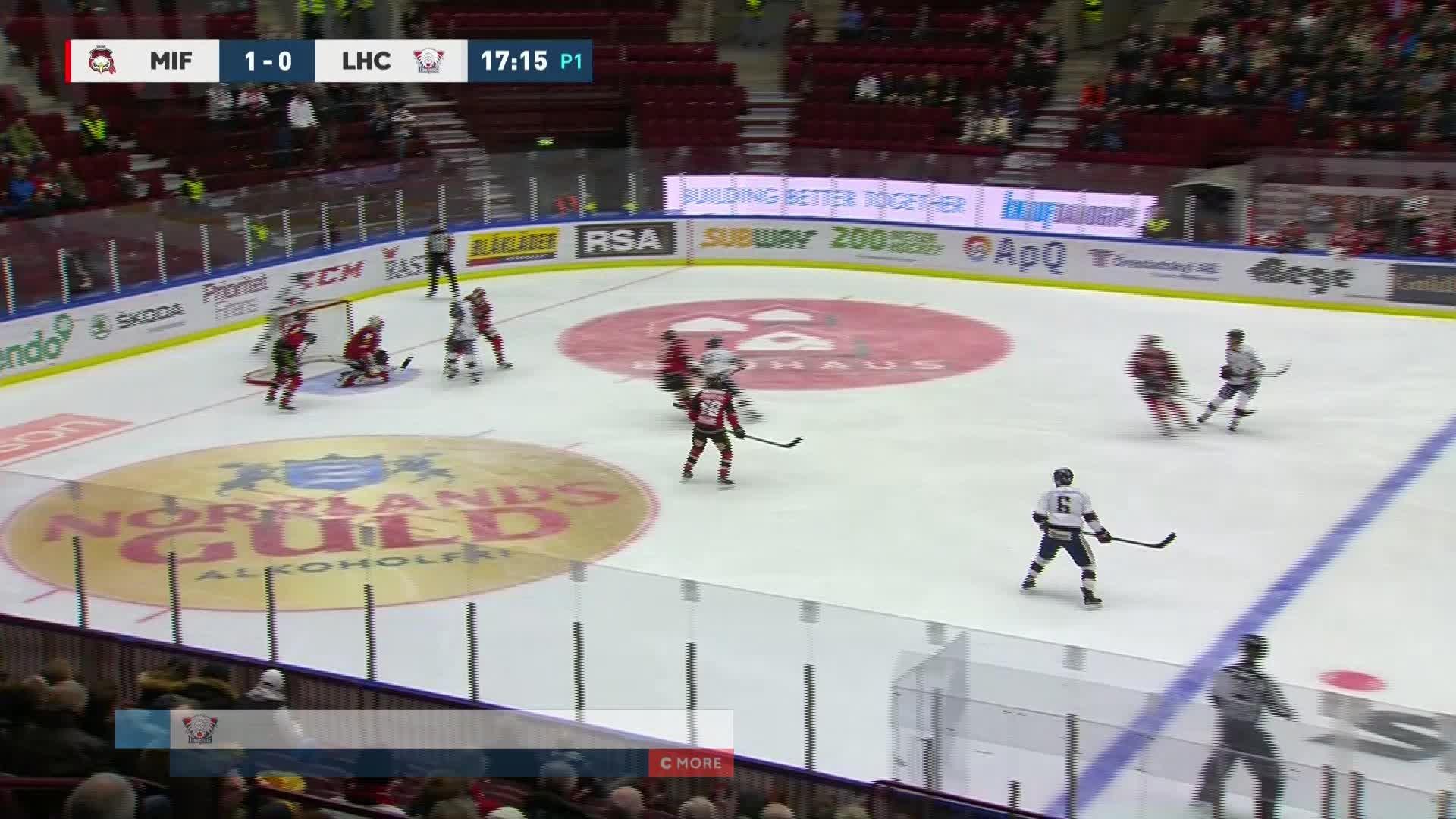 Malmö Redhawks - Linköping HC 1-1