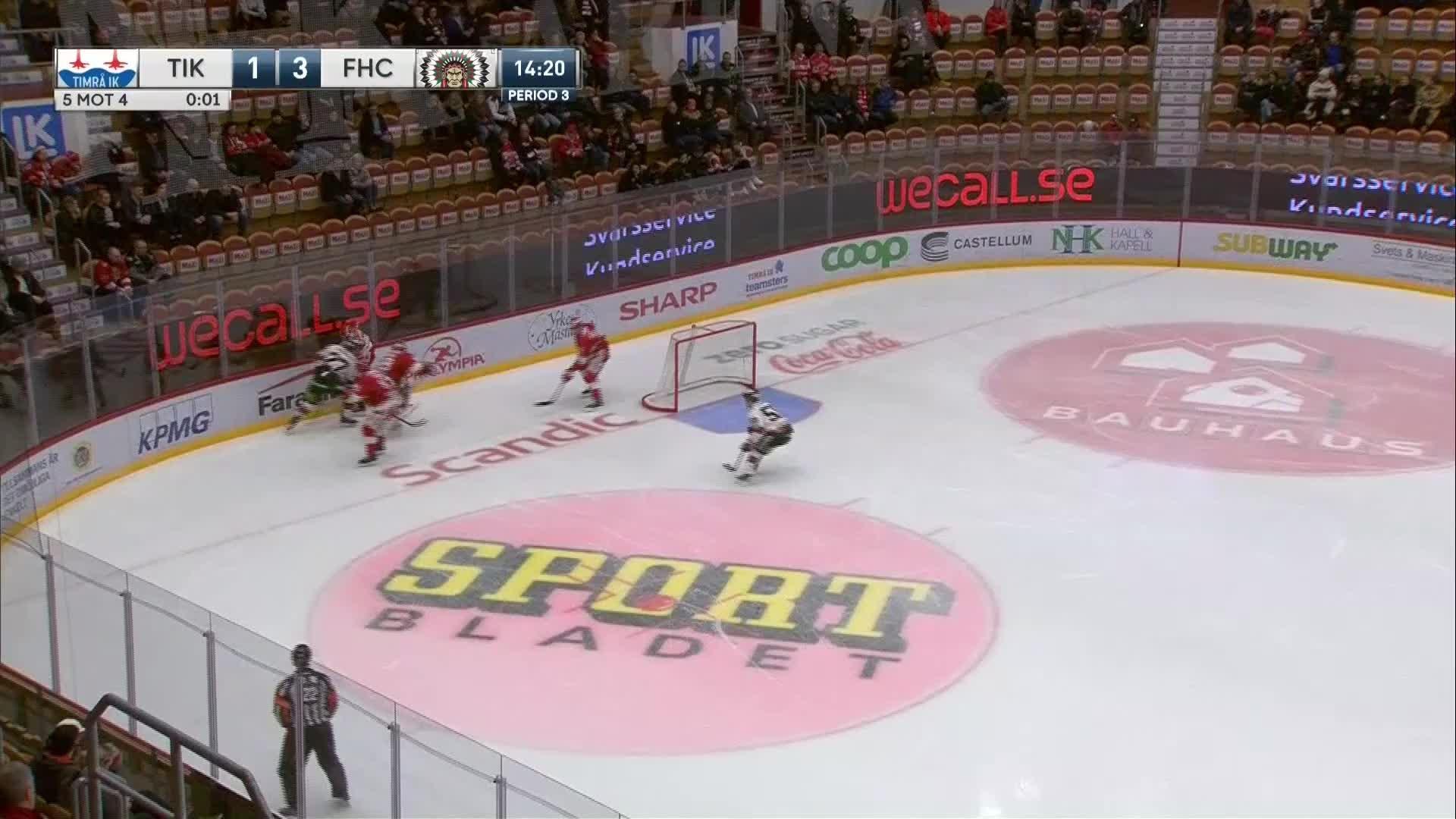 Timrå IK - Frölunda HC 1-4