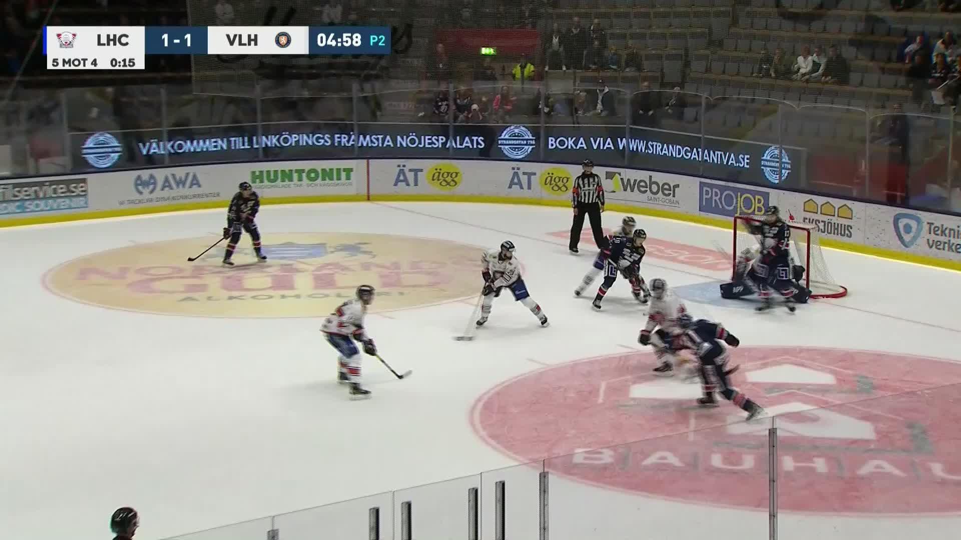 Linköping HC - Växjö Lakers 2-1
