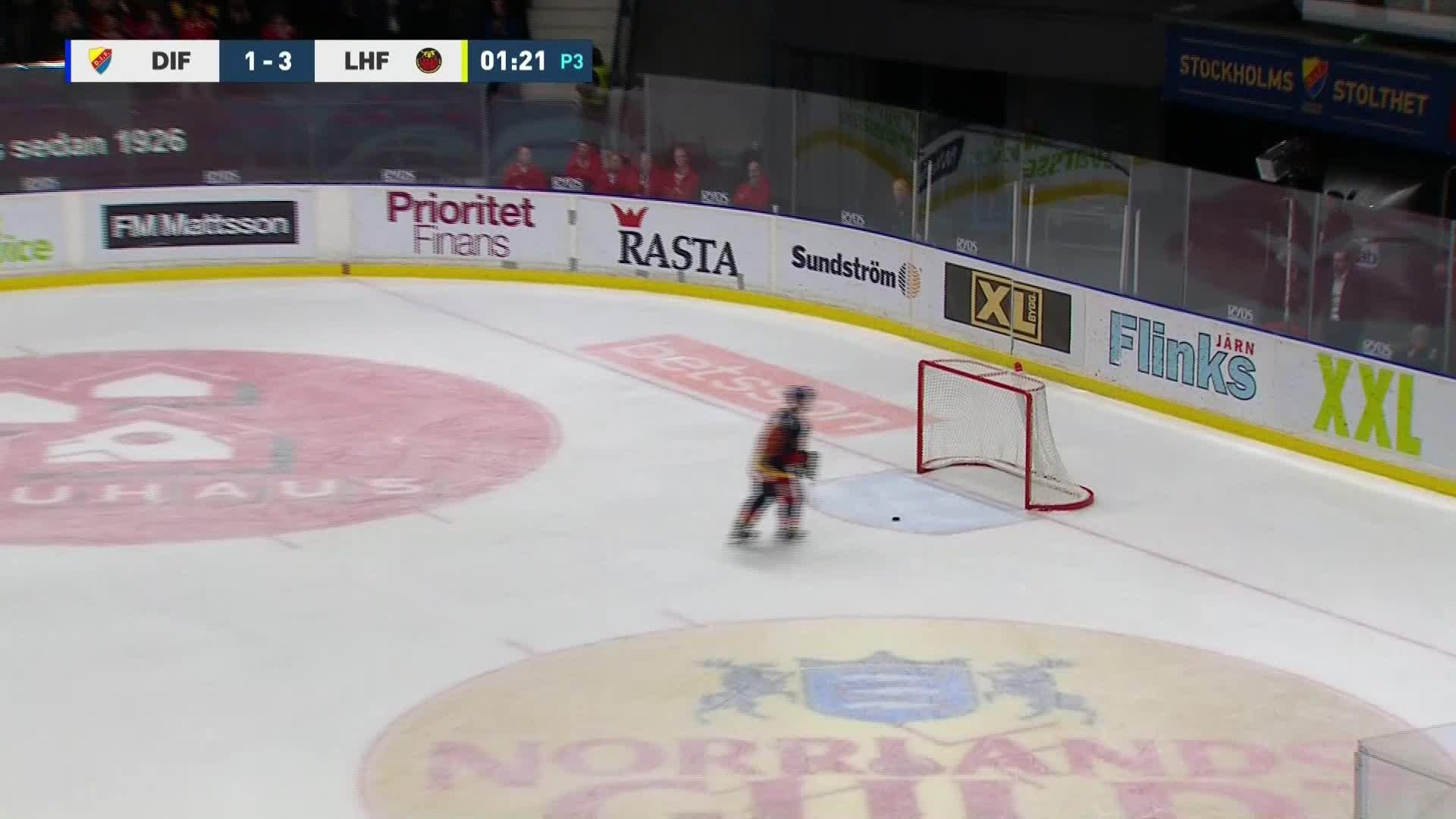 Djurgården Hockey - Luleå Hockey 1-3