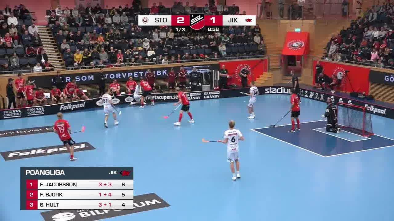 Highlights: Storvreta IBK-Jönköpings IK