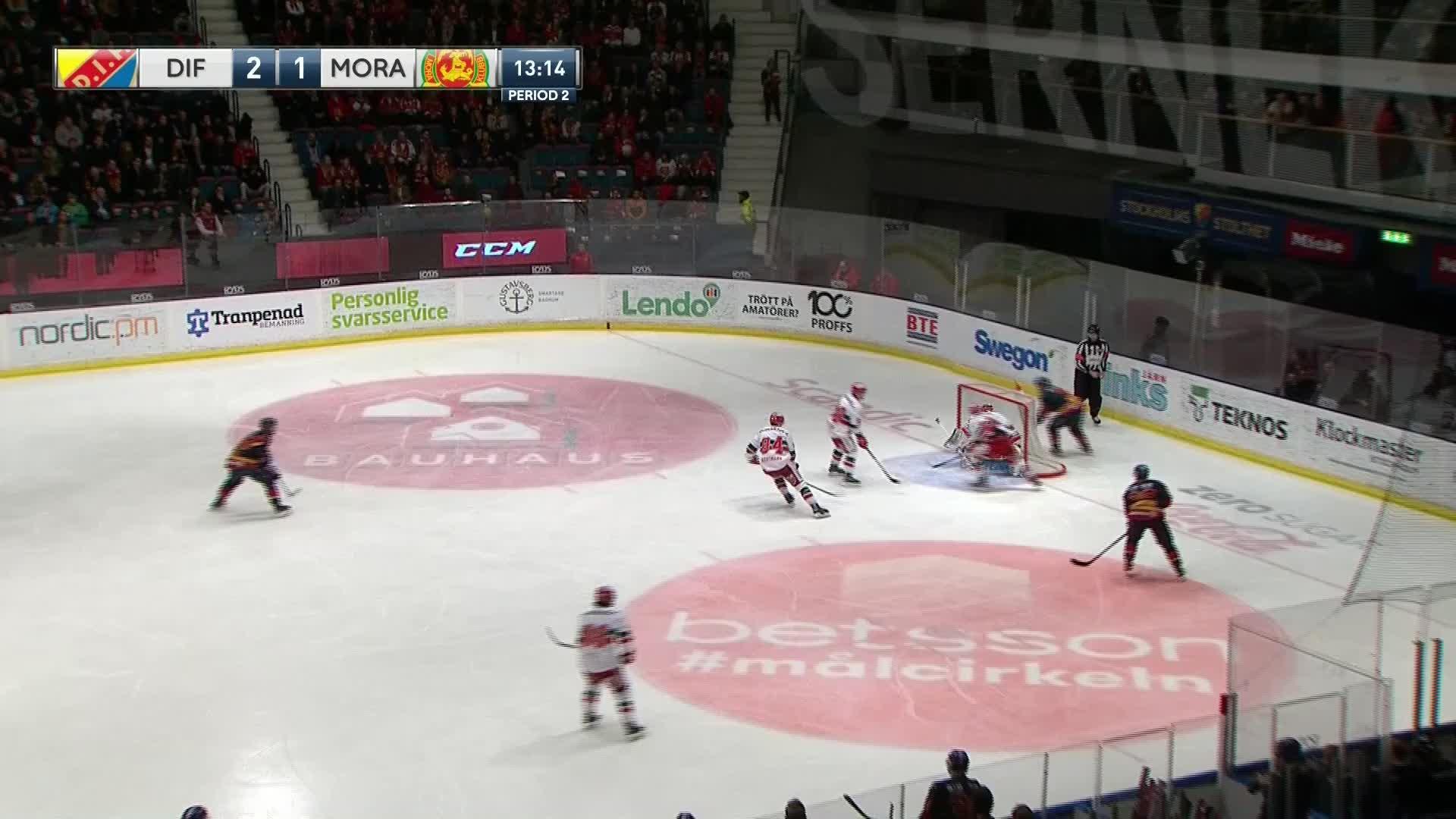 Djurgården Hockey - Mora IK 3-1