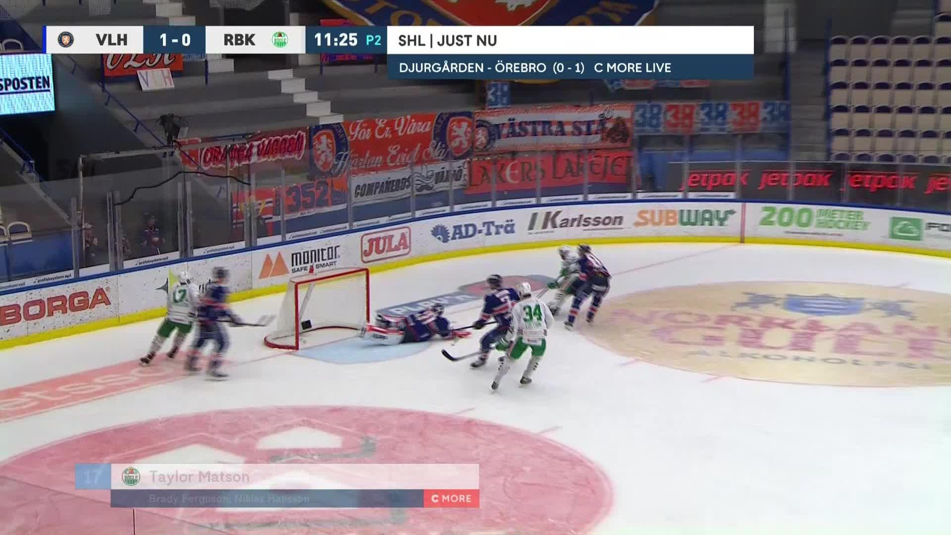 Växjö Lakers - Rögle BK 1-1
