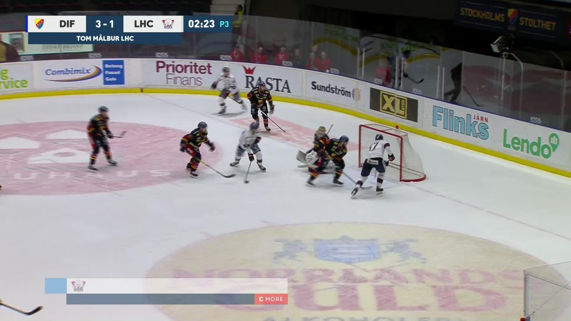 Djurgården Hockey - Linköping HC 3-2
