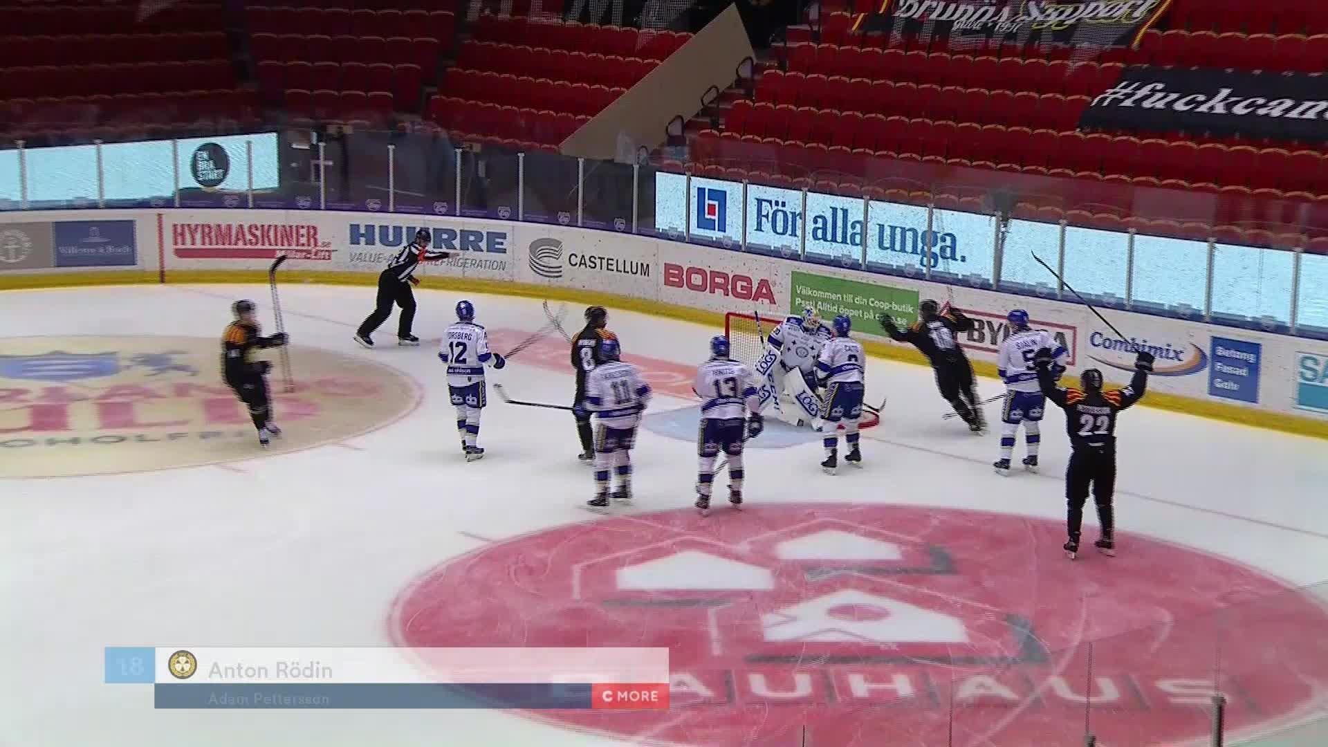 Brynäs IF - Leksands IF 1-1