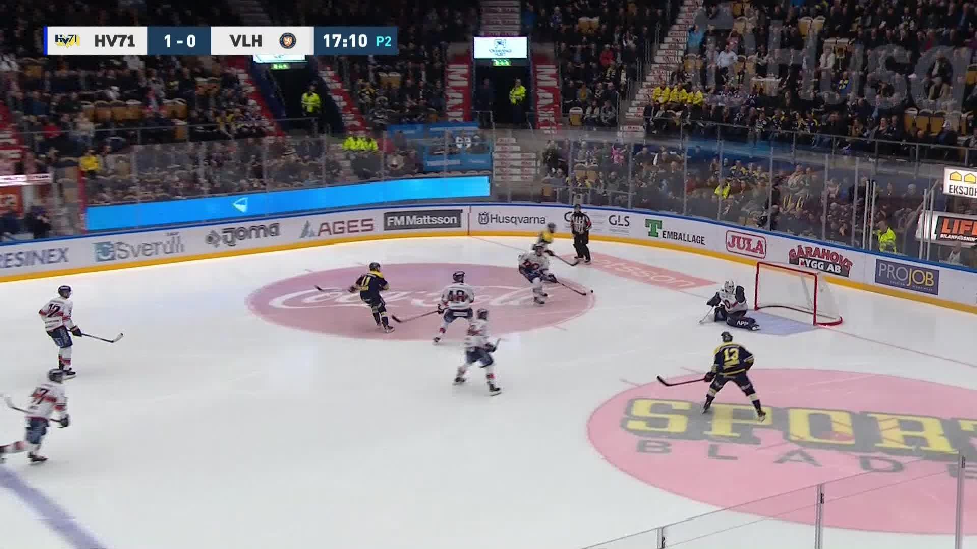HV71 - Växjö Lakers 2-0