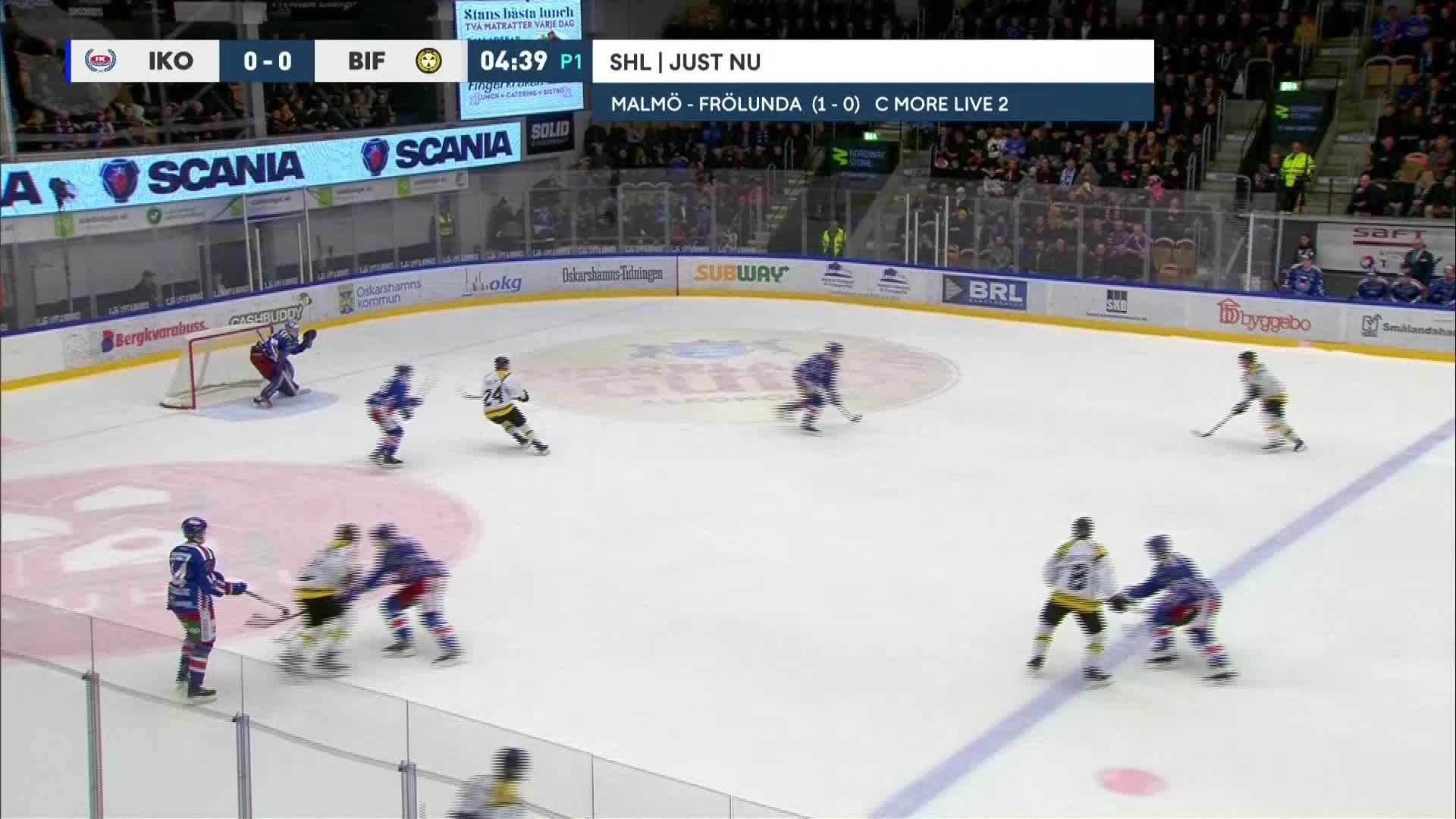 IK Oskarshamn - Brynäs IF 0-1