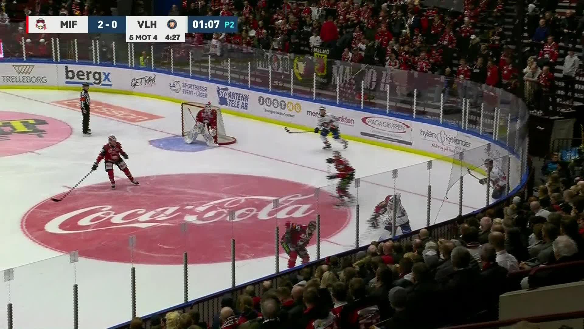 Malmö Redhawks - Växjö Lakers 2-1