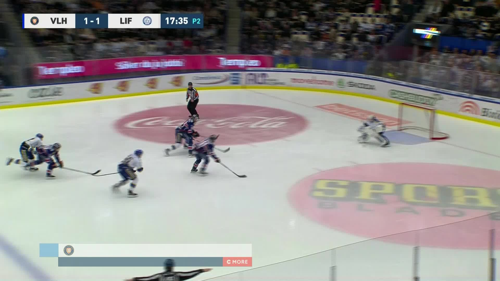 Växjö Lakers - Leksands IF 2-1
