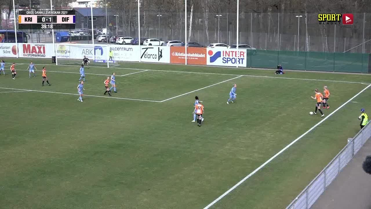 Highlights: Kristianstad DFF - Djurgårdens IF FF