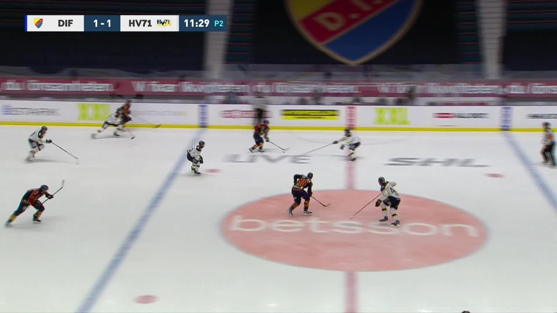 Djurgården Hockey - HV71 2-1