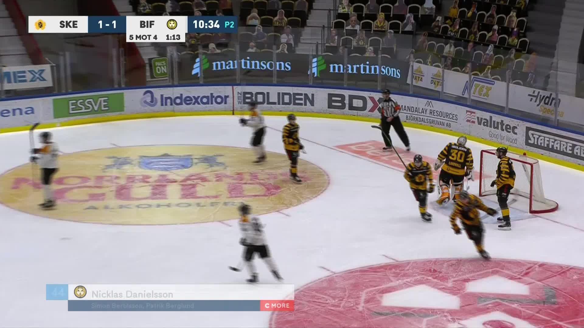 Skellefteå AIK - Brynäs IF 1-1