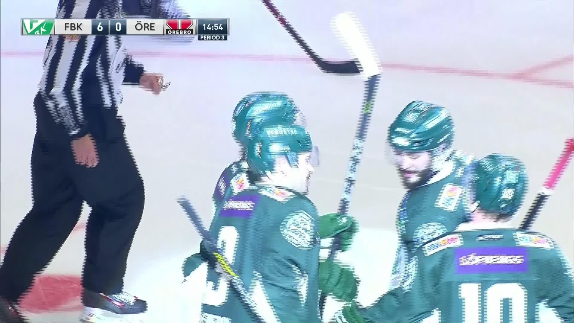 Färjestad BK - Örebro Hockey 6-0