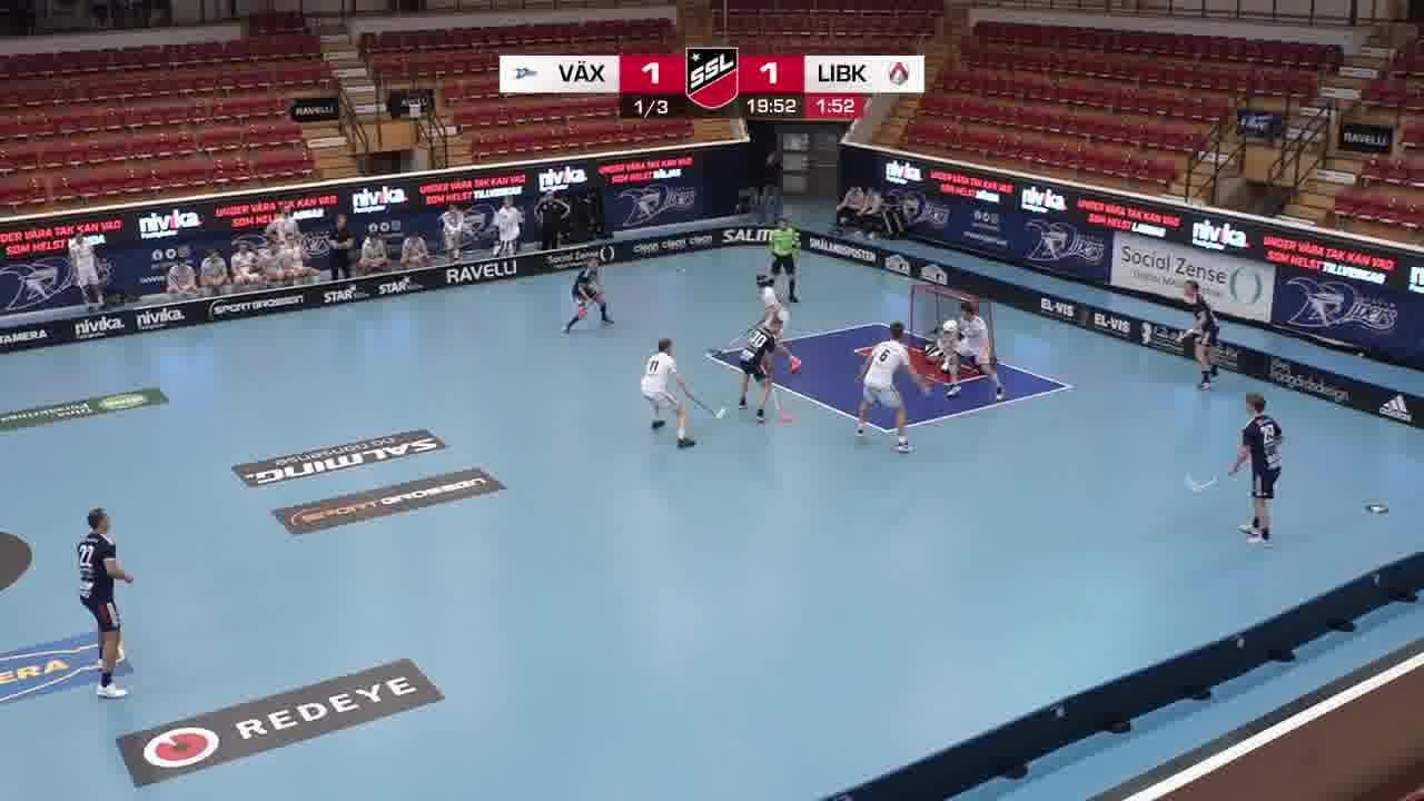 Highlights: Växjö Vipers - Linköping Innebandy