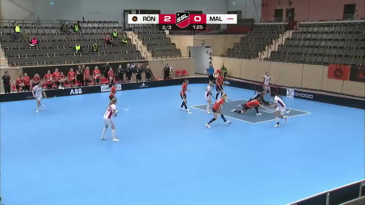 Highlights: Västerås Rönnby IBK - Malmö FBC