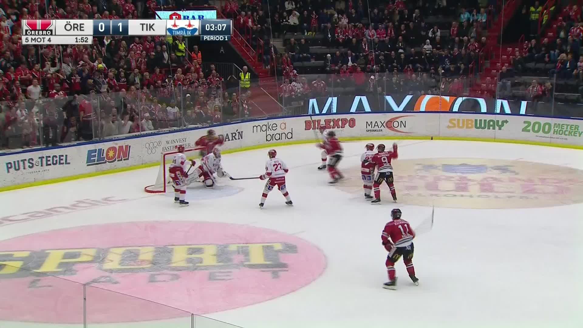 Örebro Hockey - Timrå IK 1-1