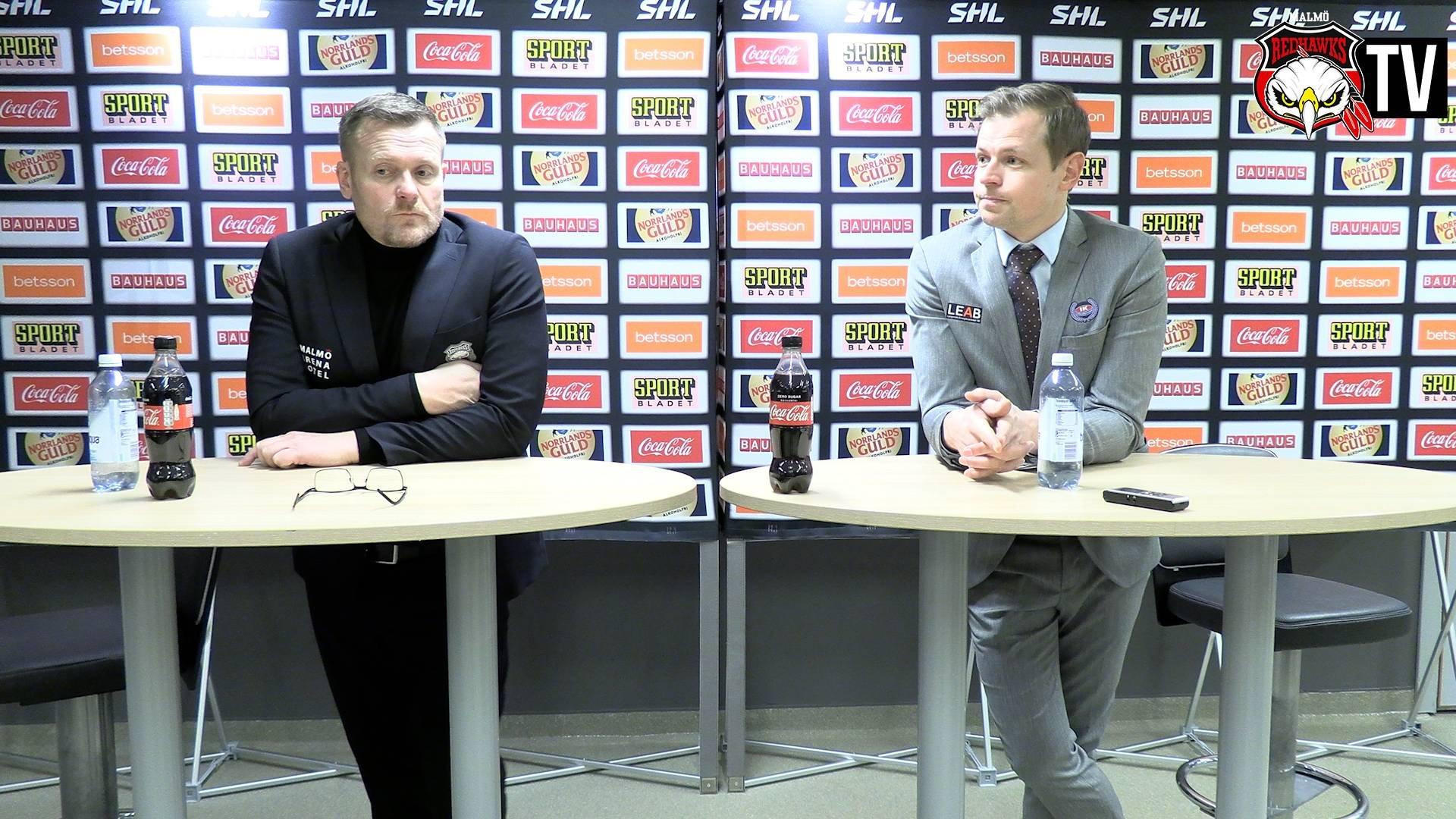 Presskonferens Malmö - Oskarshamn
