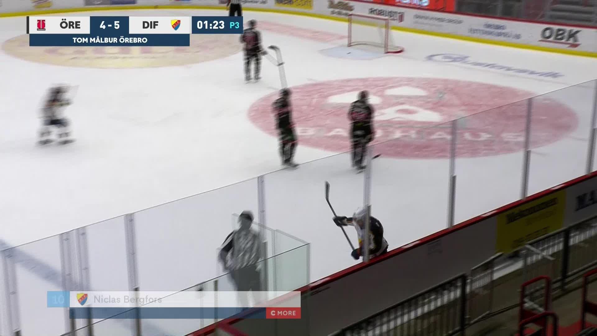 Örebro Hockey - Djurgården Hockey 4-6