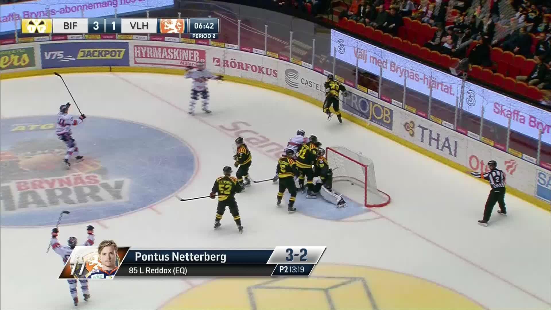 Brynäs IF - Växjö Lakers 3-2