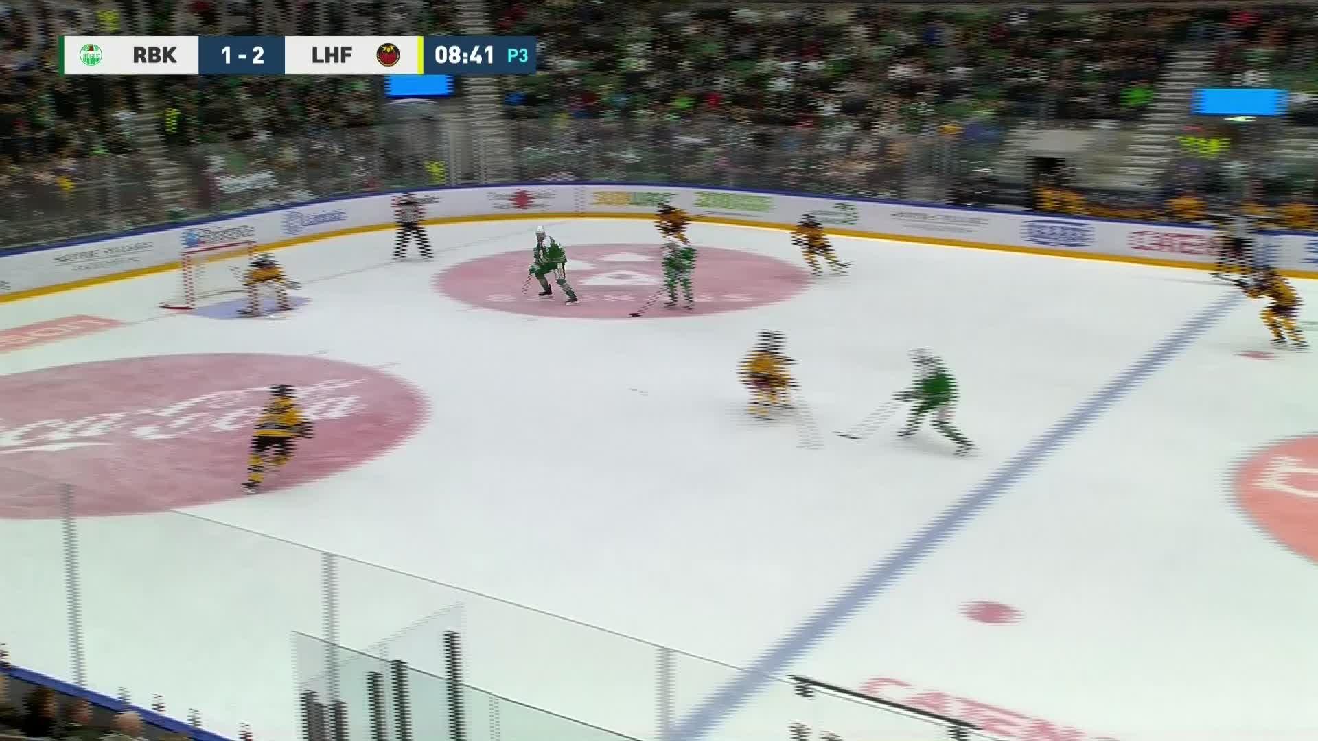 Rögle BK - Luleå Hockey 2-2